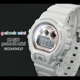 ������̵���� CASIO/G-SHOCK/G����å� G�ݥ���å� �ڥ����� ��������å��� g-shock mini ������ �ӻ��סڥ�������å� �ߥˡ�GMN-691-7BJF/white/pink��ǥ����� PIC