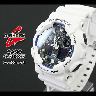 CASIO/G-SHOCK/G shock G- shock GA-100B-7AJF/MATTE WHITE watch [fs01gm]