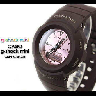 CASIO/G-SHOCK/g shock G shock G-shock G-shock mini g-shock mini women watch GMN-50-5B2JR/ brown X pink Lady's [fs01gm]