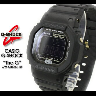 CASIO/G-SHOCK/g-shock g shock G shock G- shock [The G] the G watch /GW-5600BJ-1JF /BLACK men [fs01gm]