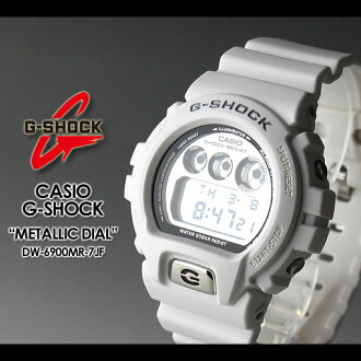 CASIO/G-SHOCK/g-shock g shock G shock G- shock [Metallic Dial Series] metallic dial series watch /DW-6900MR-7JF/white [fs01gm]
