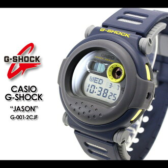 CASIO/G-SHOCK/g-shock g shock G shock G- shock [Jason] [tough a capsule] watch /G-001-2CJF/navy [fs01gm]