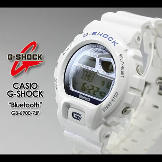 ★ ★ CASIO/G-SHOCK/g-shock g shock G shock G-shock Bluetooth Watch /GB-6900-7JF/white