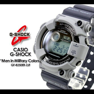 CASIO/G-SHOCK/g-shock g shock G shock G- shock [Men in Military Colors/ men in military colors] [frogman] watch /GF-8250ER-2JF/khaki/navy [fs01gm]