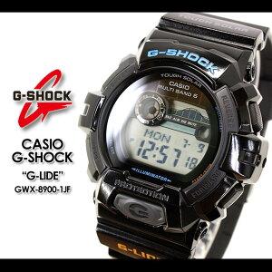 ������̵����CASIO/G-SHOCK/g-shockg����å�G����å�G−����å��ڥ�������������å��ۡ�G-LIDE��G�饤��2012�ƥ�ǥ��ӻ���/GWX-8900-1JF/black��smtb-TK�ۡڥޥ饽��1207P10��