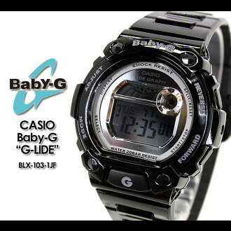 ★ ★ CASIO/G-SHOCK/g-shock g shock G shock G-shock baby-g baby G ladies BLX-103-1JF/black ladies / watch