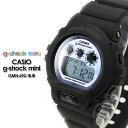 ★送料無料★ ジーショックミニ G-ショック ミニ GMN-692-1BJR/マットブラック×ライトブルーg-shock mini 女性用 腕時計 レディース