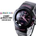 g-shock mini  G-ショック ミニ GMN-500-1B2JR   Black×Pink 女性用 レディース 腕時計 CASIO G-SHOCK g-shock Gショック