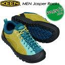 ★送料無料★ KEEN【キーン】MEN Jasper Rocks 【ジャスパー ロックス】 男性用 メンズ / ハイキング / アウトドアシューズ 1017181 Goiden Mist/Blue Turquoise