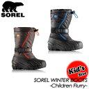 【SOREL】ソレル【Children Flurry】チルドレンフルーリー NC1885 ブーツ キッズ 子供用 SA-LE