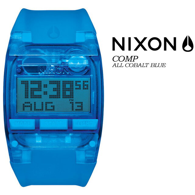 NIXON【ニクソン】【THE COMP】ALL COBALT BLUE NA4082041 腕時計 メンズ 男性用 ★国内正規品★