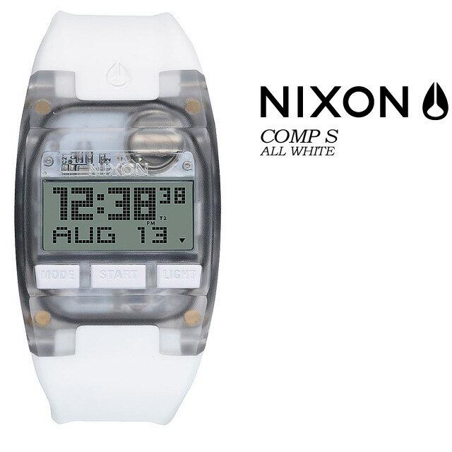 NIXON【ニクソン】【THE COMP S】ALL WHITE NA336126 腕時計 レディース 女性用 ★国内正規品★電波 ソーラー 腕時計 カシオ(電波 ソーラー 腕時計 カシオ)