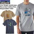 ★SALE30%OFF★ Patagonia【パタゴニア】Men's Live Simply Landscape Recycled Cotton/Poly Responsibili T-Shirt 【メンズ リブ シンプリー ランドスケープ リサイクル コットン/ポリ レスポンシビリ Tシャツ】レギュラー・フィット 38863