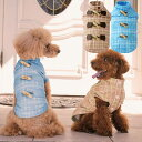 Simplers V チェックダッフルコート SS SD M L ブルー・ブラウン 超小型犬〜小型犬用 カニヘンダックス・ミニチュアダックスS 犬服