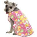 マルカン 香る着る毛布 M (2L〜3L) ピンク 小型犬〜中型犬用 犬服 柴犬、ミニチュアシュナウザー・パグ・コーギー・フレンチブルドッグ等