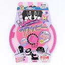 ドギーマン フライングディスク フワッピー M ピンク 犬用 おもちゃ TOY 小型犬用 室内用 スポーツ玩具 フリスビー