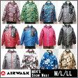 スキーウェア(メンズ)上下セット【AIRWALK】AWM-1141 AWM-1143 AWM-1146 AWM-1147 パンツ ジャケット セット メンズスノーウェア 大人用