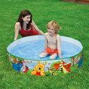 【ビニールプール 家庭用プール】【空気入れ不要 水を入れるだ...