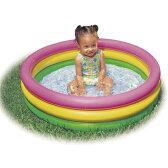 プール INTEX (インテックス) サンセットグローベイビープール ME-7025/58924 【クッション底】 【ビニールプール】【家庭用プール】子供用 ベビー 小さいプール【あす楽対応】