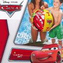 ビーチボール INTEX(インテックス) カーズビーチボール 61cm U-5251/58053【浮き輪】 海 プール 海水浴 ビーチ ボール ディズニー