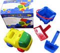 CAPTAINSTAG(キャプテンスタッグ)組立式ショベルカー【海水浴・公園・砂場・子供用おもちゃ(バケツ)】 シャベル スコップ 【あす楽対応】