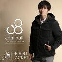 ライトウォーム 裏ボア フード ジャケット 秋冬 アウター メンズファッションJohnbull(ジョンブル)《送料・代引き手数料無料》16507