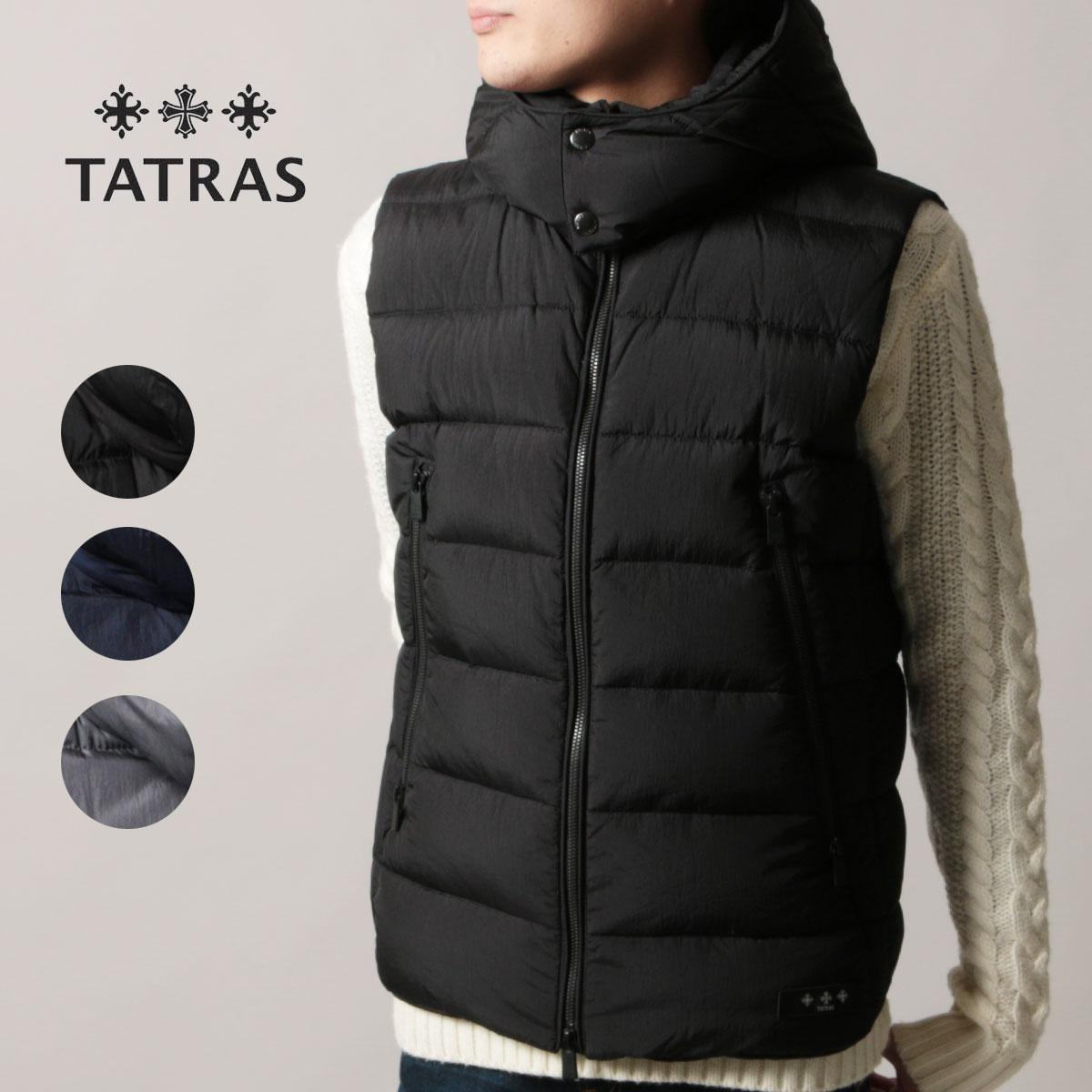 【セール対象】TATRAS ダウンベスト メンズ タトラス CURONE クローネ 秋冬 新作TATRAS タトラス