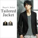 【テーラード ジャケット メンズ】スーツ地 ピークドラペル 1ボタン テーラードジャケット 男性 メンズ Buyer's Select バイヤーズセレクト
