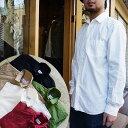 マニュアルアルファベット シャツ メンズ 日本製 タイプライターシャツ 長袖 Manual Alphabet レギュラーカラーシャツ 長袖シャツ カジュアル シャツ タイプライター シャツジャケット かわいい ネイビー ベージュ ma-s-302 送料無料
