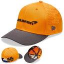 ショッピングマクラーレン Mclaren F1 Team Carlos Sainz NEW ERA 9FORTY Cap orange マクラーレン ニューエラ キャップ 帽子 オレンジ カルロス・サインツ
