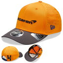 Mclaren F1 Team Lando Norris NEW ERA 9FORTY Cap orange マクラーレン ニューエラ キャップ 帽子 オレンジ ランド・ノリス