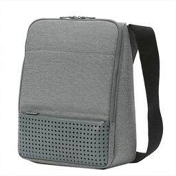 グッドデザイン賞受賞【ひらくPCバッグmini(ミニ)】PCバック パソコンバック PCケース メンズ ショルダー SUPER CLASSIC MacBook Air13インチ ipad も収納 かっこいい 持ち運ぶ おしゃれ いしたにまさき ひらく 開く ビジネスバッグ 肩掛け 自立 バック
