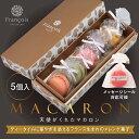 リボン付 マカロン 5個入お中元 プチギフト [冷]冷蔵便 ...