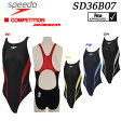 【送料無料】 【SD36B07】 SPEEDO スピード ジュニア女子競泳水着 FLEX ZERO  fina ガールズ 期間限定