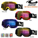 【M1513-WMD】 MUTANT Jrスノーゴーグル 球面レンズ ヘルメット対応15-16最新モデル 05P01Mar15