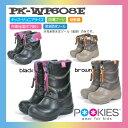 【PK-WP608E】 POOKIES スノーブーツ ジュニアセミロングブーツ 完全防水ソール 05P30Nov13