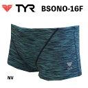 【送料無料】【BSONO-16F】TYR ティア メンズトレーニング水着モデル オシャレ 男性用メンズ 水着MADE IN JAPAN 日本製 メンズショートボクサー 練習用水着ハーフスパッツ 05P19Mar1