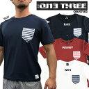 【送料無料】【ORJ97302】 ONE THREE オンヨネ ONYONE ラッシュガード男性用 半袖 Tシャツ ポケット 海 プール  日焼け防止
