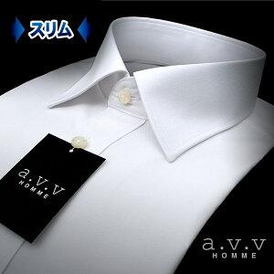 セミワイドカラー・ビジネスシャツ カッターシャツ ワイシャツ リクルート 冠婚葬祭