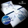 ショッピング細身 【Dismiss】形態安定・超スリムフィット・ストレッチドビーストライプ・ボタンダウンシャツ(ワイシャツ/Yシャツ/ドレスシャツ/トールサイズ/細身) 父の日 lucky5days