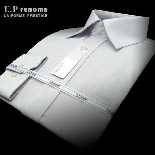 レギュラーカラー・ビジネスシャツ・グレー ワイシャツ