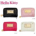 ショッピングコインケース 日用品 便利 ユニーク HelloKitty ハローキティ ラウンドコイン&カードケース HK26-4 ローズ