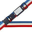 服飾雑貨関連商品 スーツケースベルト ワンタッチベルト 国旗柄 フランス
