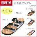 EDWIN(エドウィン) メンズサンダル 25.0cm EW...