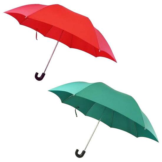 ショルダー二段式折りたたみ傘 エンジ・CMV16D 使いやすい二段式折りたたみ傘です。【格好いい】