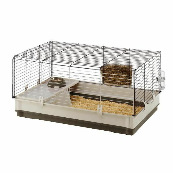 ウサギ用ケージセットクロリックラージレッド・57070570