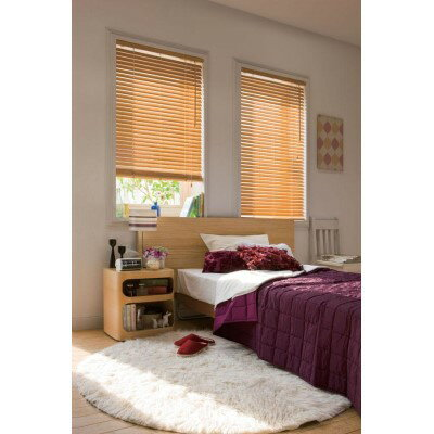 目隠し 木の温もりと心地よい空間をお届けします。 生活 便利 ウッドブラインドN35 規格品88cm×108cm TW-4513ナチュラル