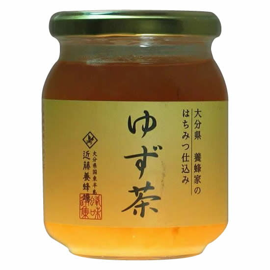 便利雑貨 近藤養蜂場 ゆず茶 250g 12個組□蜂蜜 蜂蜜・ハニー ジャム・蜂蜜 関連