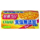 日用品 便利 ユニーク いなば 缶詰 食塩無添加コーン(200g×3缶) ×8セット