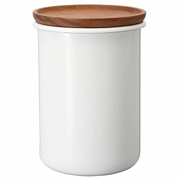 容器・ストッカー・調味料容器関連商品HARIOハリオボナ琺瑯/ホーローティー&コーヒーキャニスター2